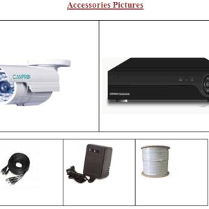 16 pcs Camera CCTV with DVR price in Bangladesh