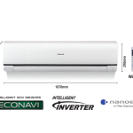 Panasonic CS-S18PKH 1.5 Ton Air Conditioner