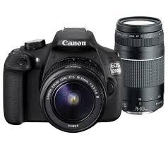Canon EOS 1200D DLSR + 18-55mm lens