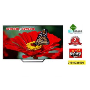 Sony W602D 32 inch You Tube Screen Mirroring HD LED TV